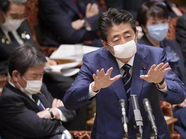 Japan PM offers masks, gets social media roasting