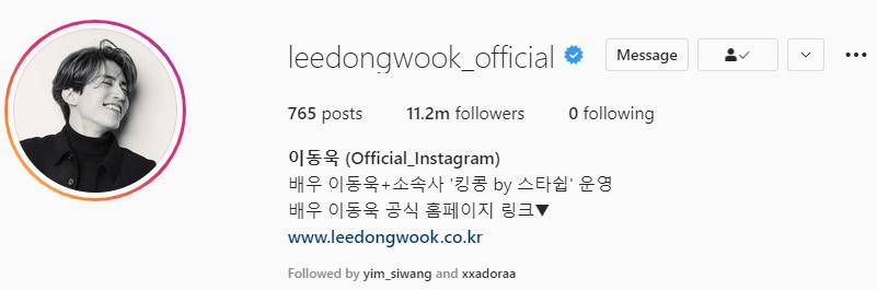 Top 21 Most Followed Korean Actors On Instagram & 80 Other Actors' Instagram