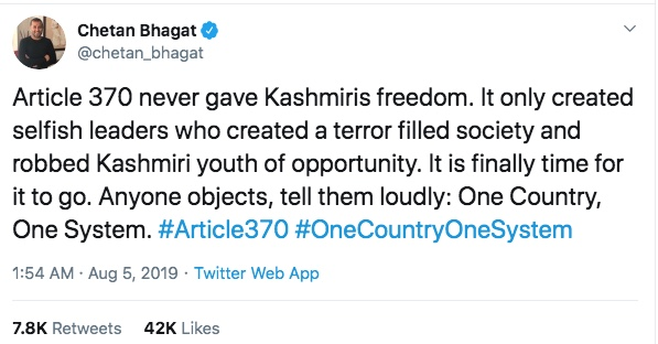 Celebs From India And Pakistan Sound Off On Article 370