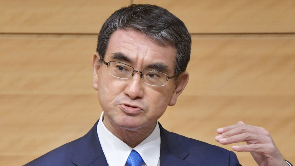 PROFILE: Outspoken, Twitter-savvy Taro Kono most popular pick for Japan PM