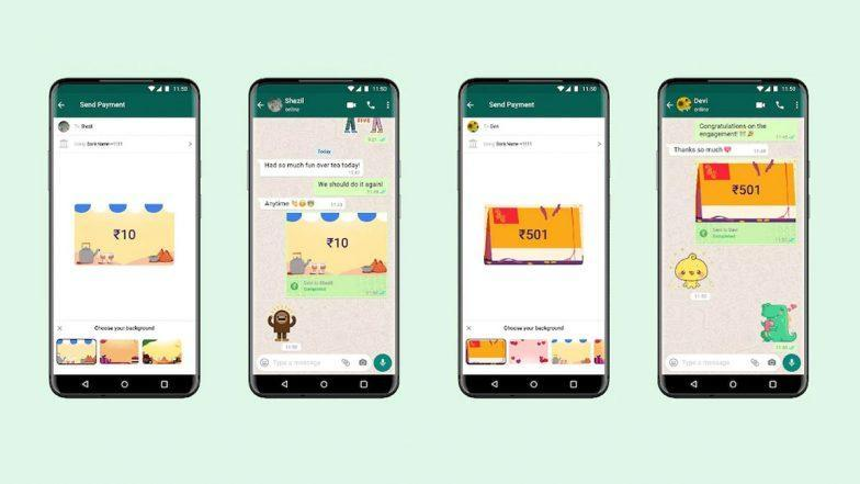 WhatsApp Payments Background Feature