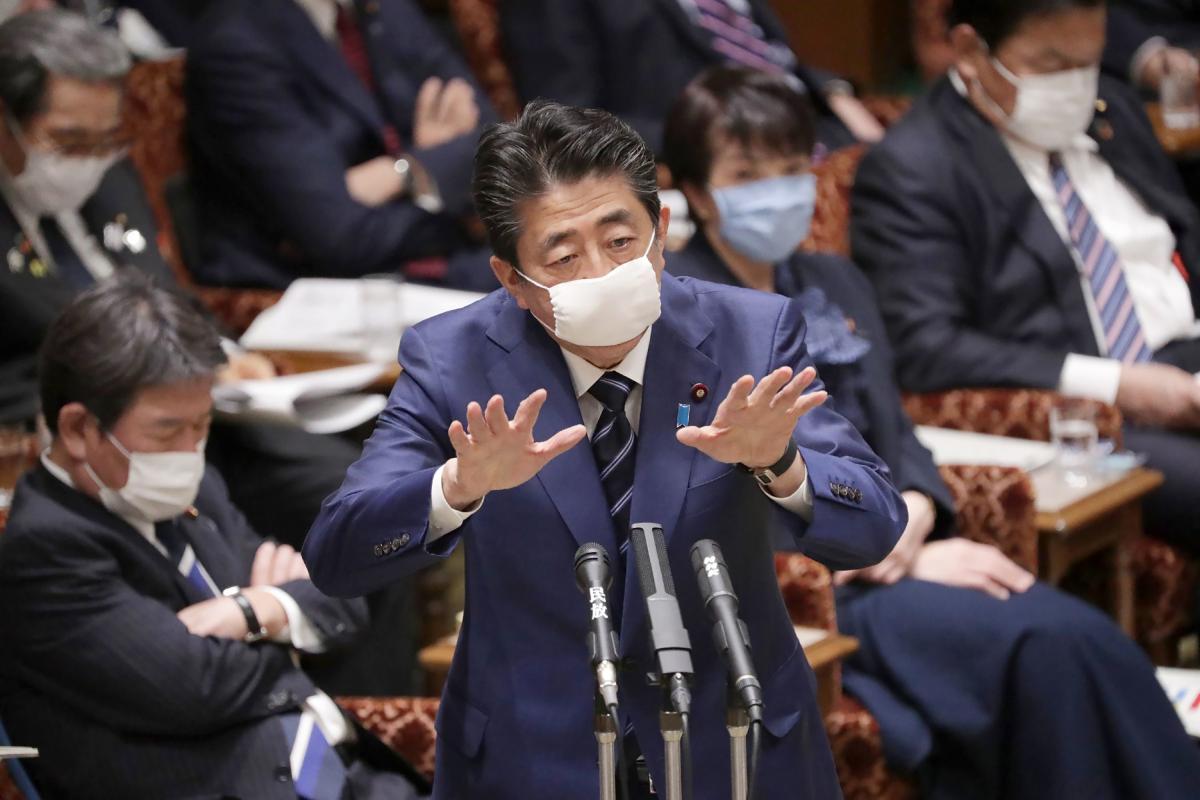On brink of coronavirus crisis, Japan PM Shinzo Abe offers masks, gets social media roasting