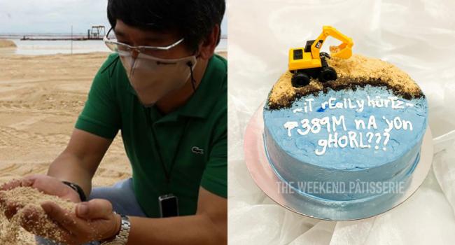 Manila Bay Dolomite Cake Goes Viral On Social Media