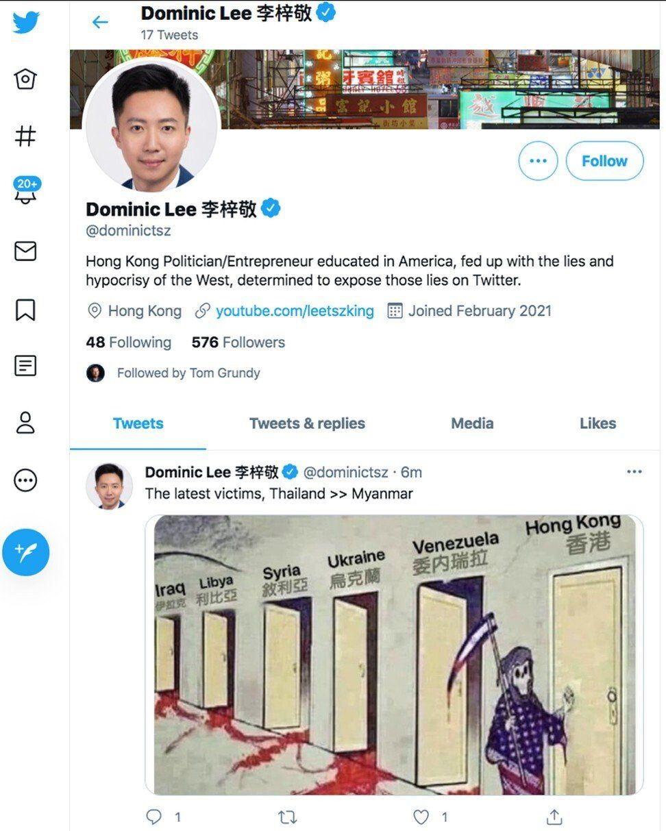 Pro-Beijing politicians turn 'wolf warriors' on Twitter, defending China