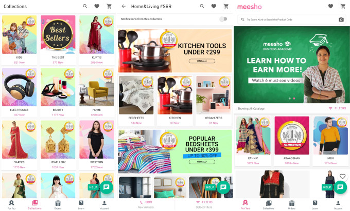 Facebook backs social commerce startup Meesho in first India investment
