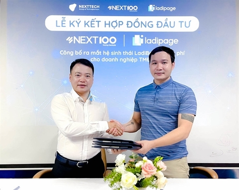 Nexttech invests in LadiPage to promote e-commerce in Viet Nam