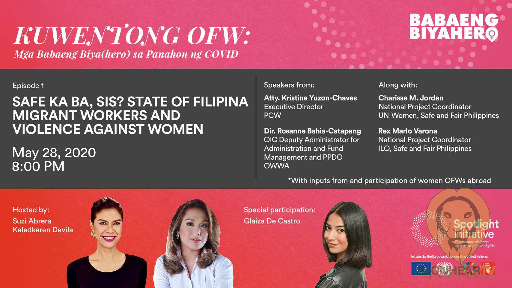 Safe and Fair Philippines launches Facebook series on COVID-19 support for OFWs