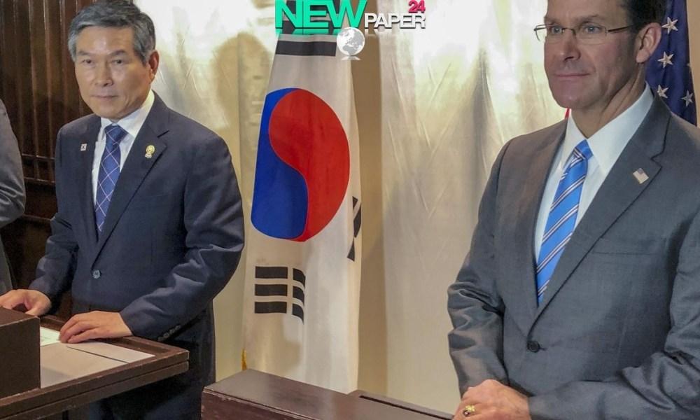 US, S Korea postpone joint train criticized by N Korea – NEWPAPER24 – Newpaper24 – Global online News around the World